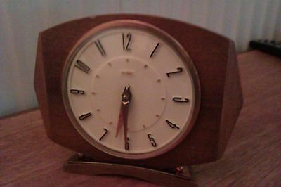vintage wind up clock rare not repo