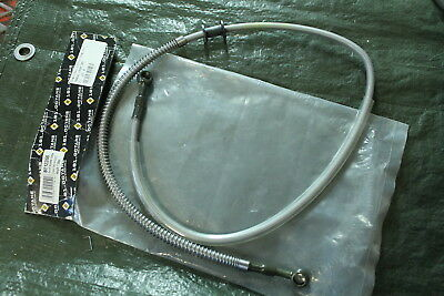 Brake line Braided stainless steel 105 cm Chinaroller 10Zoll Tyres Adly Pan