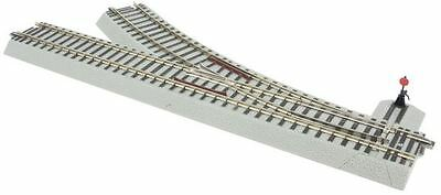 AF 6-49884 S Right Hand R27 Manual Turnout - American Flyer® FasTrack