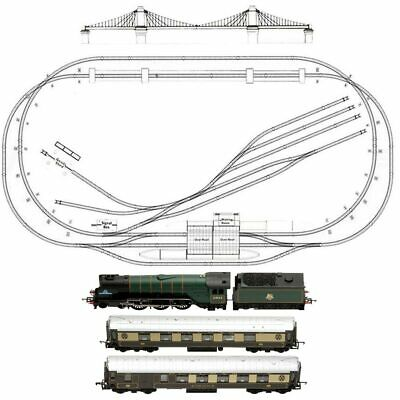 HORNBY Digital Train Set HL3 - Large Layout with Suspension Bridge