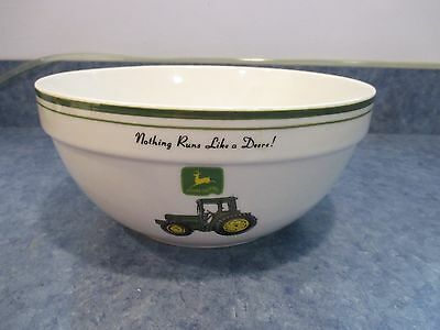 "John Deere 9"" Mixing Bowl Gibson New With Label Discontinued"