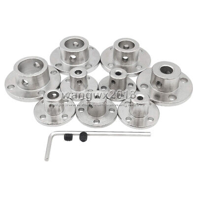 3/4/5/6/7/8/10mm Rigid Flange Coupling Motor Guide Shaft Coupler Motor Connector