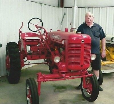 Super A Tractor manufactured by International Harvester
