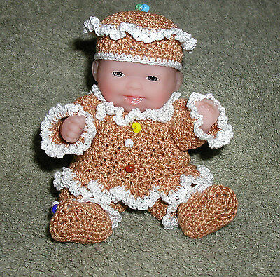 """Gingerbread Itty Bitty Baby - 5"""" Lots to Love Babies"""