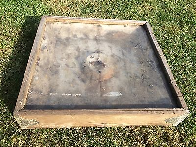 Vintage Taxidermy Cabinet Case Display Oak Glass Insect Butterfly