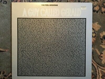 """A Guy Called Gerald - The Peel Sessions - 1989 12"""" Vinyl"""