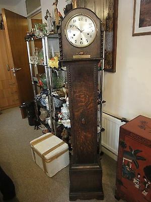 1931 Grandmother Clock size 150mm = 5 foot, working well