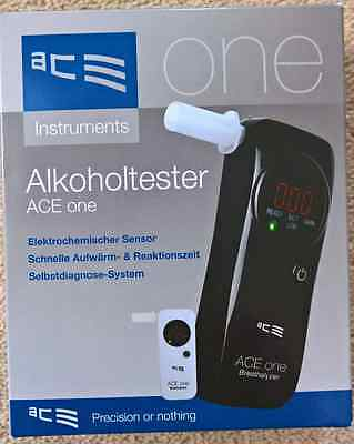 ACE ONE Breathalyzer (black) - UK version