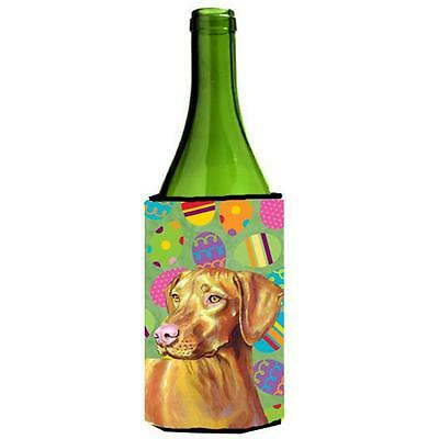 Carolines Treasures Vizsla Easter Eggtravaganza Wine Bottle Hugger 24 oz.