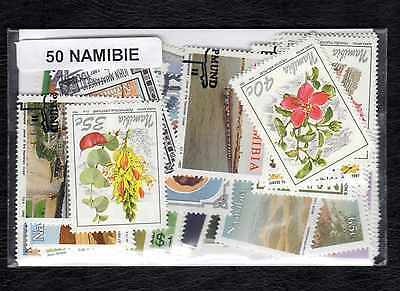 Namibie - Namibia 50 timbres différents