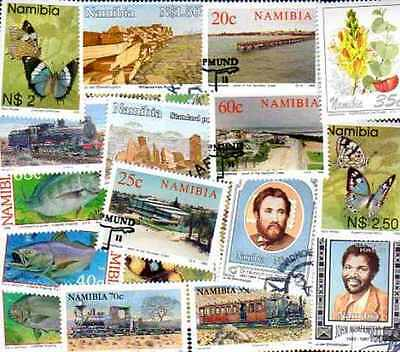 Namibie - Namibia 75 timbres différents