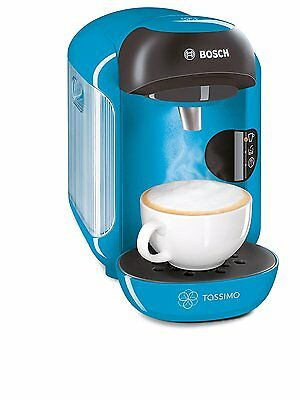 Bosch Tassimo Vivy Hot Drinks and Coffee Machine, TAS1255GB - BLUE - NEW!