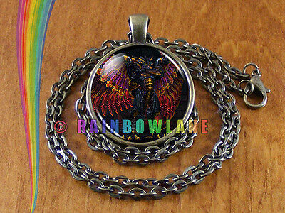 Bahamut DnD Dungeons and Dragons Final Fantasy Game Necklace Pendant Jewelry