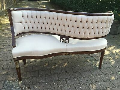 Unique Special Sofa/loveseat/settee/couch In Rare Model