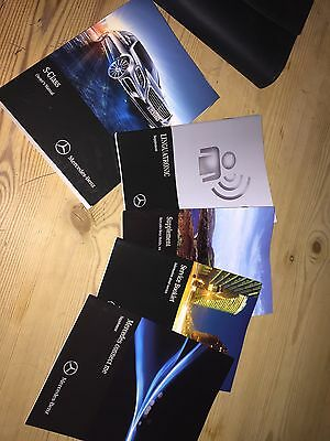 Mercedes S-Class W222 Owners Manual Handbook Wallet 2013-2016
