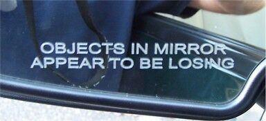 Objects in Mirror Appear To Be Losing Decal
