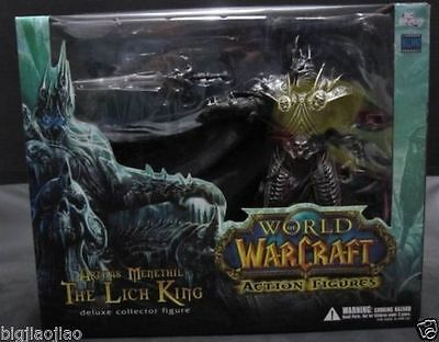 NEW WOW World of Warcraft The Lich King Arthas Menethil Action Figures