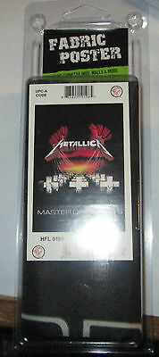 Metallica Texile Poster Flag  Rare New Never Opened Master Puppets