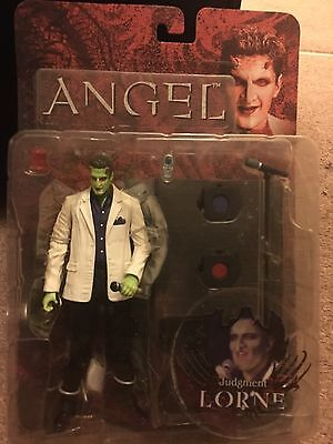 JUDGEMENT LORNE - Angel/ Buffy Action Figure - New Sealed
