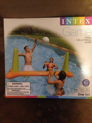 Volleyball Game Pool Floating NET Inflatable Summer Beach Water swimming INTEX
