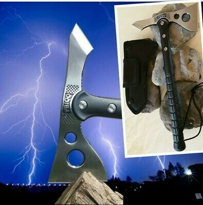 Survival Camping Hiking Shovel Axe Saw-Emergency Tool-Hunting Field Tool-FB08
