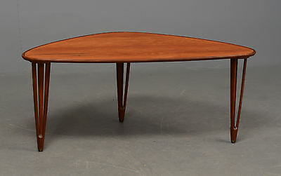 Danish Teak tri-leg Side Table