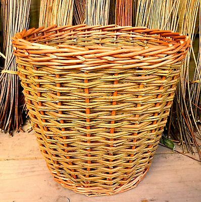 Make this Willow Wastepaper Basket: a weaving kit for complete beginners..