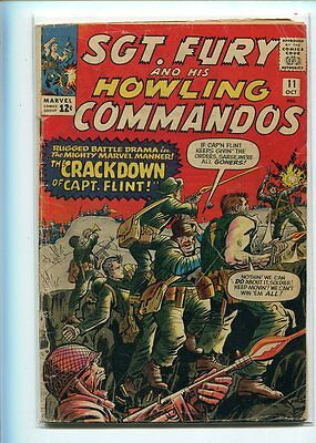 Sgt. Fury #11 Affordable Grade All Out Battle Cover