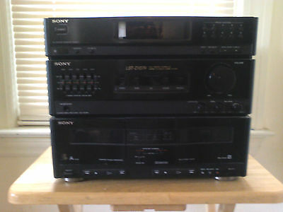 Sony LBT-D107R HiFi Receiver Tape Deck (partially tested)