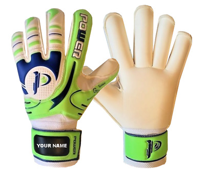 Football Goalkeeper Gloves Roll Finger Saver Goalie  Sizes numbers 8, 9, 10