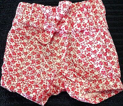 Cotton On Baby Girls Size 000 Pull On Pants Shorts Pink As New ����