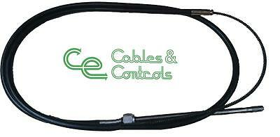 Outboard steering cable. 11 foot cable, Teleflex SSC62 or SSC92