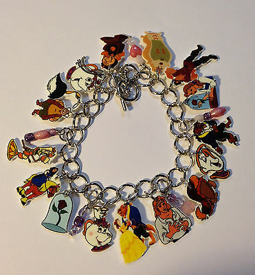 Beauty And The Beast Bracelet Charms