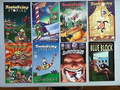 Complete Set: TANTALIZING STORIES by Jim Woodring (Fantagraphic) #1 to #6