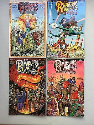 Complete Set: THE REMARKABLE WORLDS OF PROFESSOR PHINEAS B. FUDDLE (DC, 2000)
