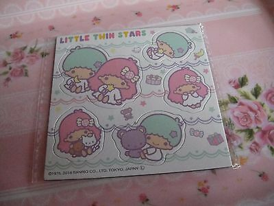 Japanese Sanrio Little Twin Stars magnet sticker limited edition cute