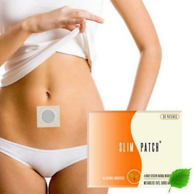 30pc Slim Magnetic Patch Diet Slimming Weight Loss Adhesive Detox Burn Fat Pads