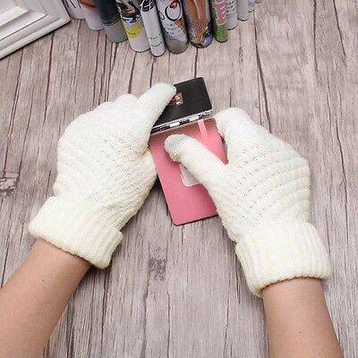 Soft Winter Men Women Screen Gloves Texting Capacitive Smartphone Knited
