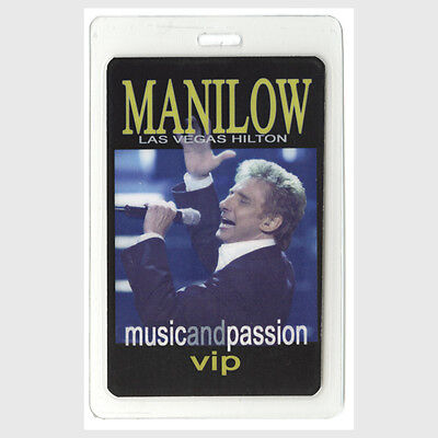Barry Manilow VIP 2006 Laminated Backstage Pass