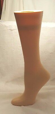 "Mannequin LEG Foot SHOE Form 15""  - Weighted - RPM Industries USA"
