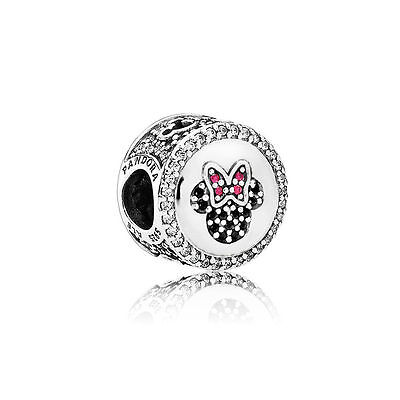 NEW DISNEY PARK PANDORA -Mickey and Minnie Mouse Icon Charm- LIMITED EDITION