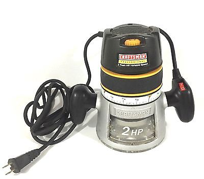 Craftsman Professional 2HP Router