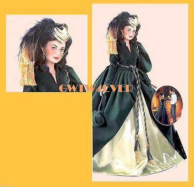 INGENUITY OUTFIT  VINYL Scarlett O'Hara doll Franklin Mint GONE WITH the WIND