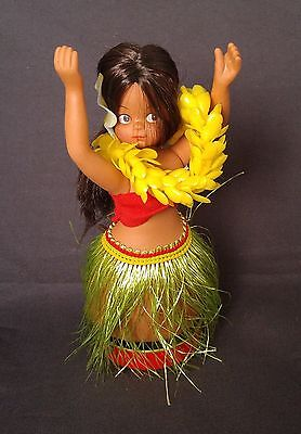 Vintage Nani Wind Up Hula Doll in Original Box with Key Works Well