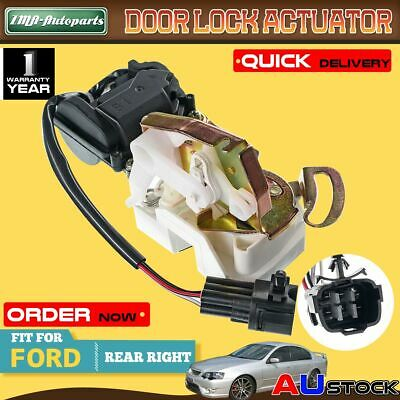 For Ford Falcon AU BA BF 1998-2006 Rear Right Door Lock Actuator BAFF26412A