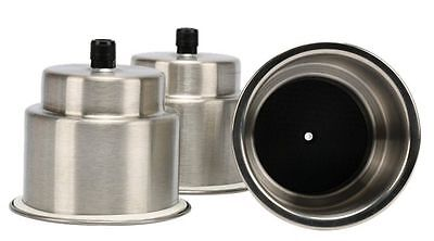 3 x Boat Marine Stainless Steel Cup Drink Holder-AM