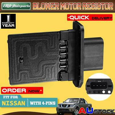 Blower Motor Heater Fan Resistor  For Nissan Navara D40 Pathfinder R51