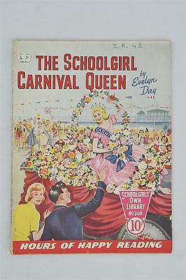 Schoolgirl's Own Library 309 The Carnival Queen 1959 Evelyn Day Vintage Magazine