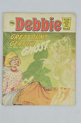 Debbie 62 Great Aunt Gertie's Ghost 1983 Vintage Comic Picture Story Library