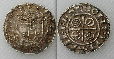 Collectable Norman Silver Penny Of King William I 1066-1087 - Pax Reverse